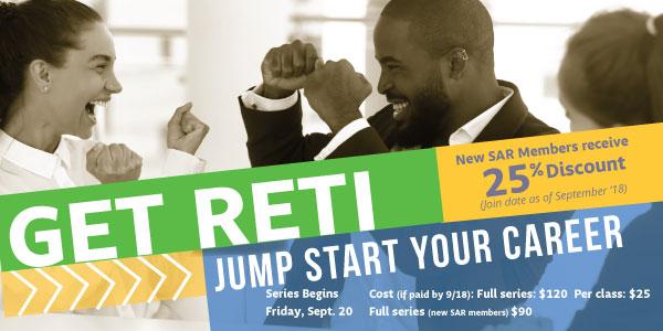 RETI Series Begins Sept. 20